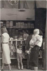 1950年頃の松崎煎餅